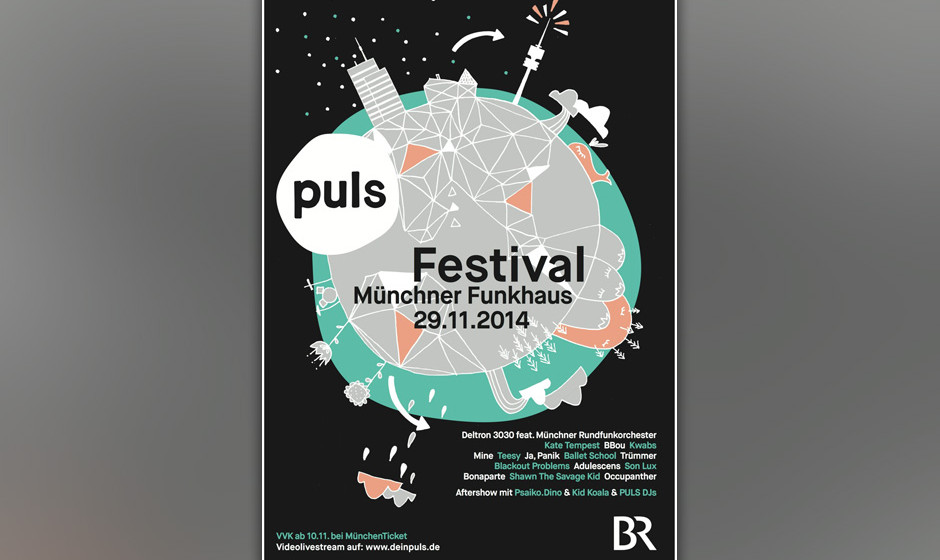 Das PULS Festival am 29. November in München mit...