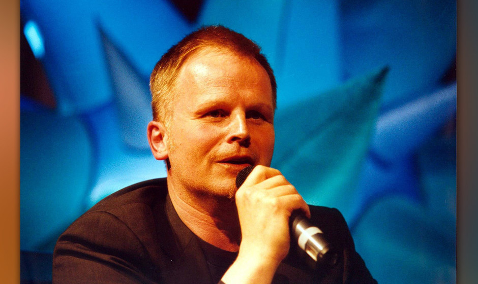 Herbert Grönemeyer 2001 in Köln, Deutschland. (Photo by Peter Bischoff/Getty Images)