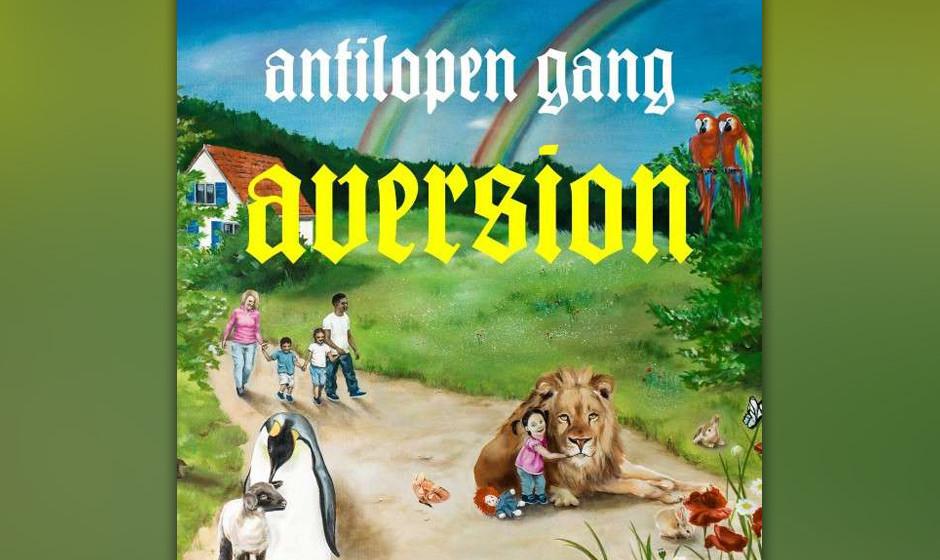 Das aktuelle Album der Antilopen Gang heißt AVERSION