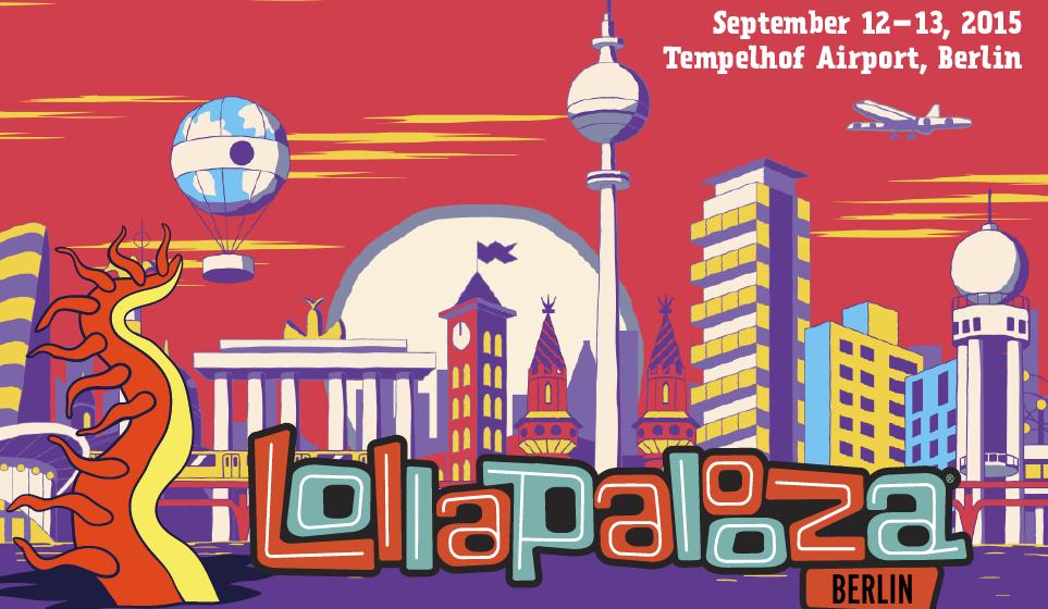 Lollapalooza Berlin: Ticket-Vorverkauf für 2015 hat begonnen