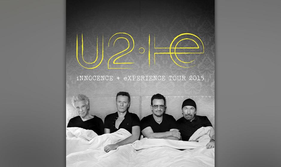 U2 im Bett: Offizielles Artwork zur kommenden iNNOCENCE & eXPERIENCE-Tour