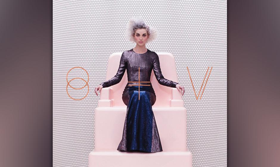59.St. Vincent – St. Vincent (VÖ: 21.02.2014)  Die unberechenbare Sängerin arbeitet mit mehr Groove und mehr Gitarre auf