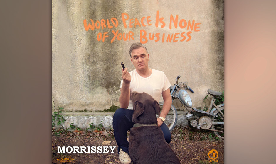 63.Morrissey - World Peace Is None Of Your Business (VÖ: 11.07.2014)  Auf seinem zehnten Album sucht der Axl Rose des Indie-
