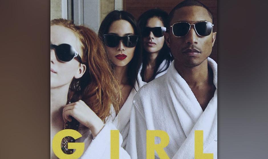 65.Pharrell Williams - GIRL (VÖ: 03.03.2014)  Nach dem Pharrell-Jahr 2013 versucht sich die Pop-Ikone erneut als Solist.