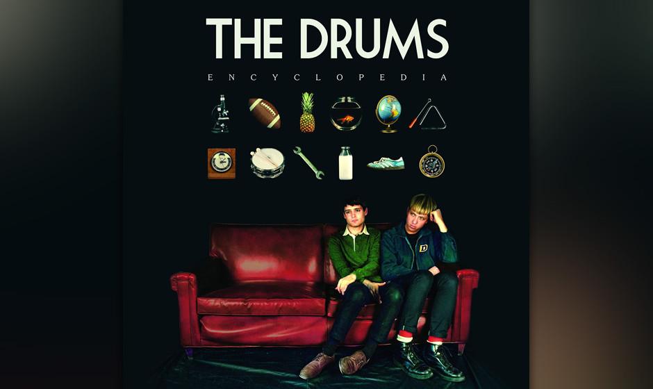 80.The Drums - Encyclopedia (VÖ: 26.09.2014)  Indie-Power-Pop: Die ehemaligen Hype-Lieblinge räumen auf und präsentieren i