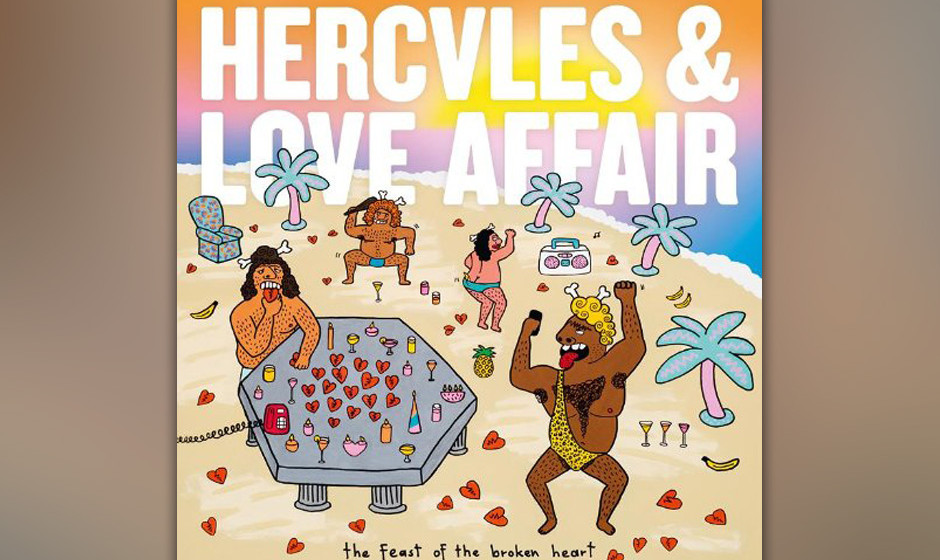 94.Hercules And Love Affair – The Feast Of The Broken Heart (VÖ: 23.05.2014)  LP Nummer drei von Andy Butlers permanent fl