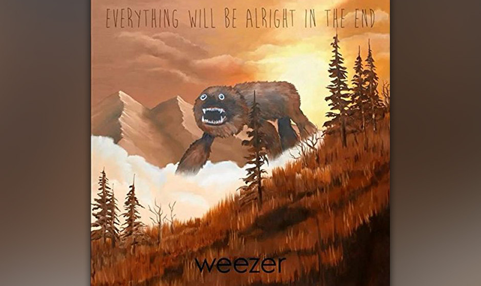 97.Weezer - Everything Will Be Alright In The End (VÖ: 03.10.2014)  Das neue Album der gefallenen Alternative-Helden ist leb
