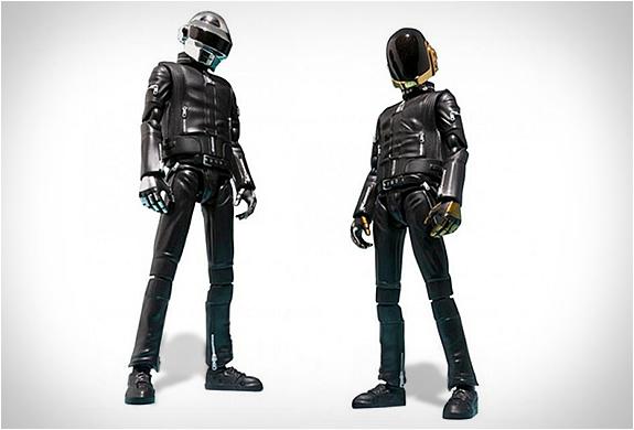 ...denn als Actionfiguren gibt es Daft Punk bereits