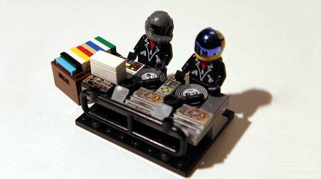 So könnten Daft Punk als Lego-Figuren aussehen...