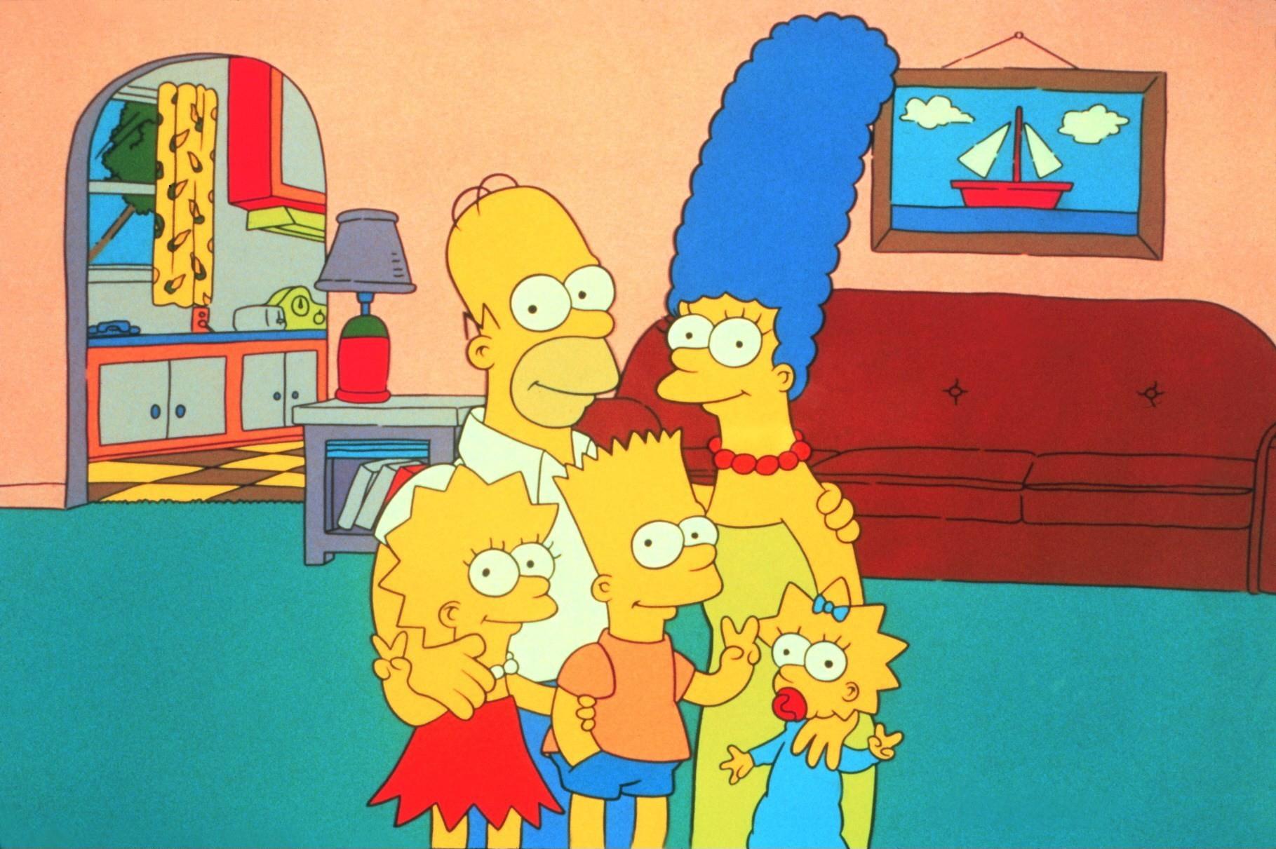 Die Simpsons (The Simpsons, TV-Serie, USA 1989-?) Familie Simpson  /Zeichentrickfilm, Zeichentrick, Fernsehserie, television