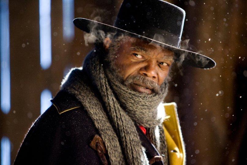 """Auch in Tarantinos zweitem Western """"The Hateful Eight"""" mit dabei: Samuel L. Jackson"""