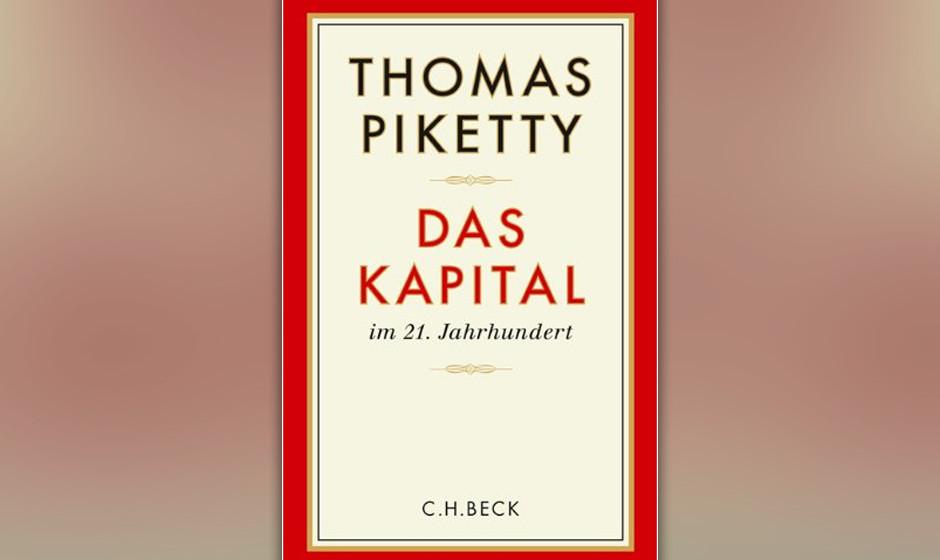 Platz 8: Thomas Piketty - 'Das Kapital im 21. Jahrhundert'