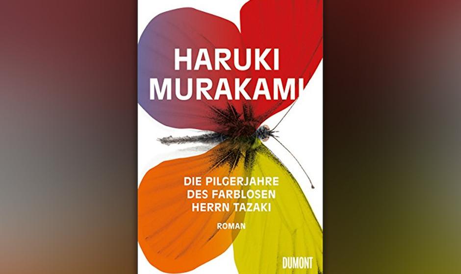 Platz 5: Haruki Murakami - 'Die Pilgerjahre des farblosen Herrn Tazaki'