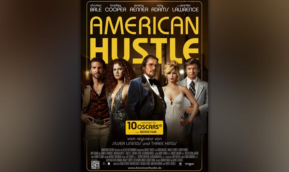 Platz 10: 'American Hustle'