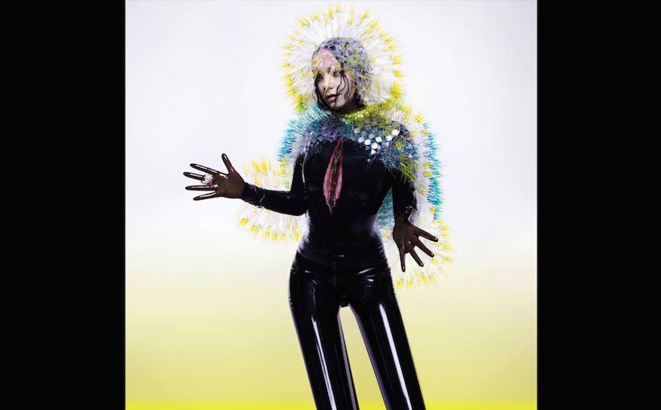Wieder grosse Kunst: Das Albumcover von VULNICURA, das Björk auf Facebook postete.