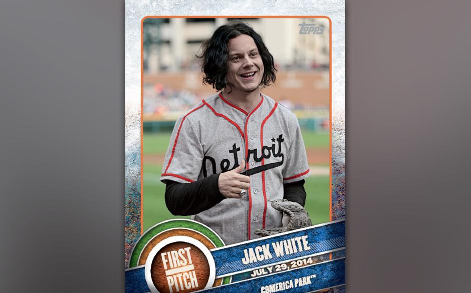 Baseball-Karte mit Jack White