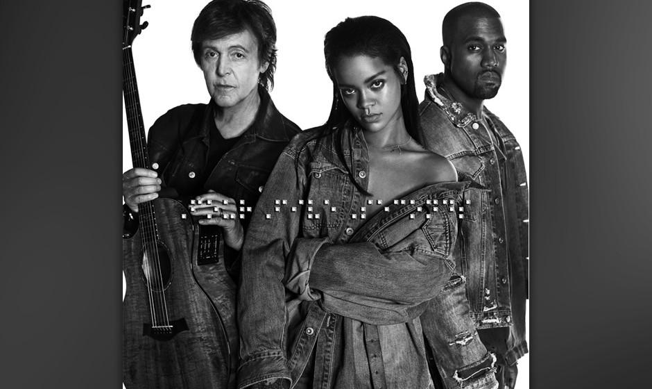 'FourFiveSeconds', die gemeinsame Single von Paul McCartney, Kanye West und Rihanna