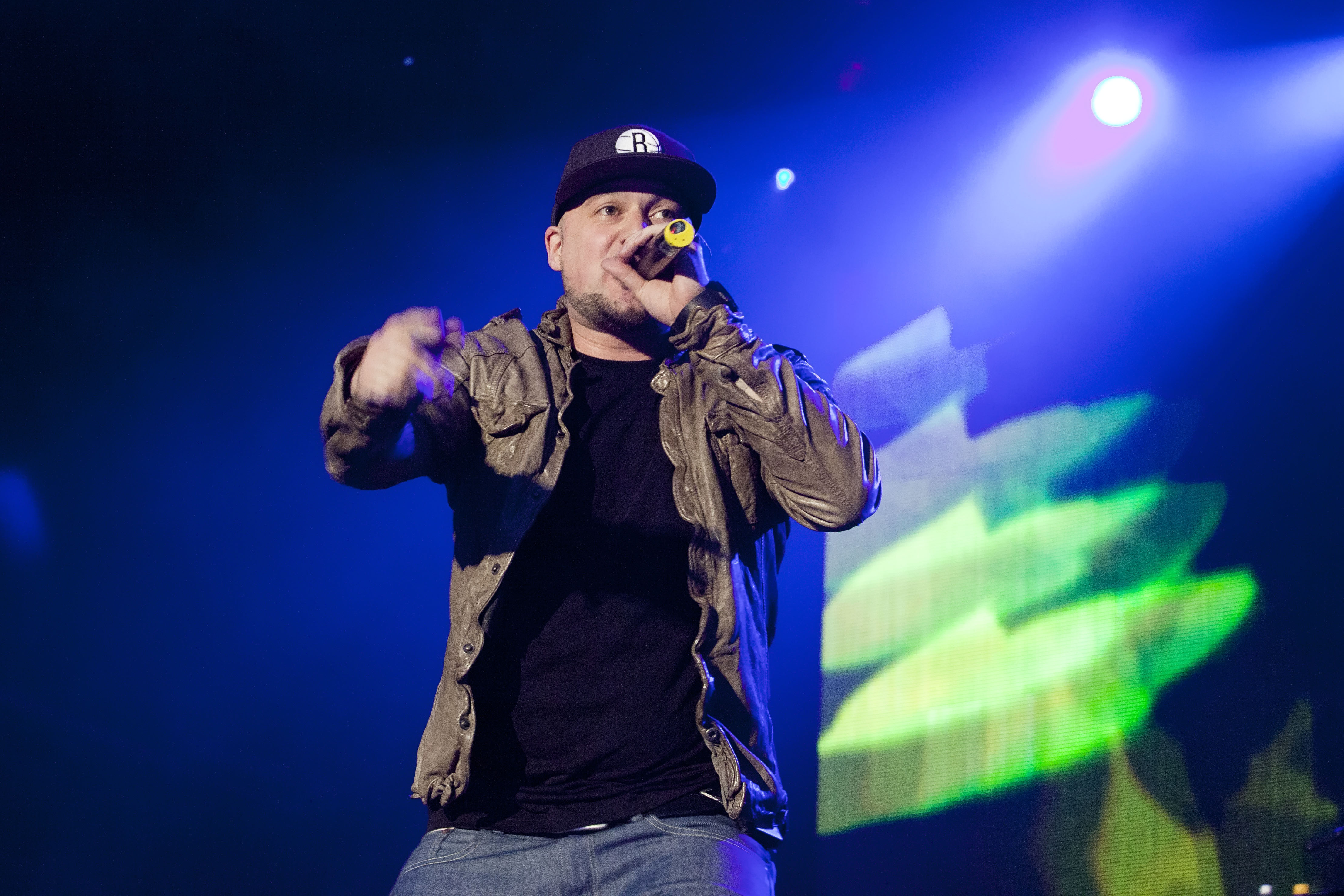 BERLIN, GERMANY - AUGUST 30: Singer Kool Savas of Xavas performs live during a concert at the Zitadelle Spandau on August 30,