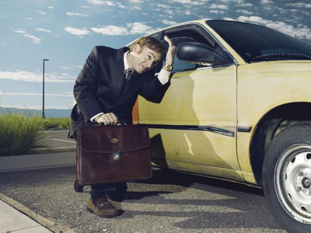 "Anwalt und Krimineller: Saul Goodman (Bob Odenkirk), bekannt aus ""Better Call Saul"", bekommt seine eigene Serie."