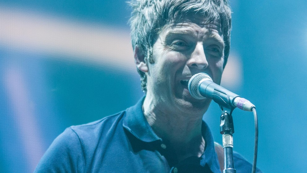 Noel Gallaghers High Flying Birds play at the SSE Hydro in Glasgow;