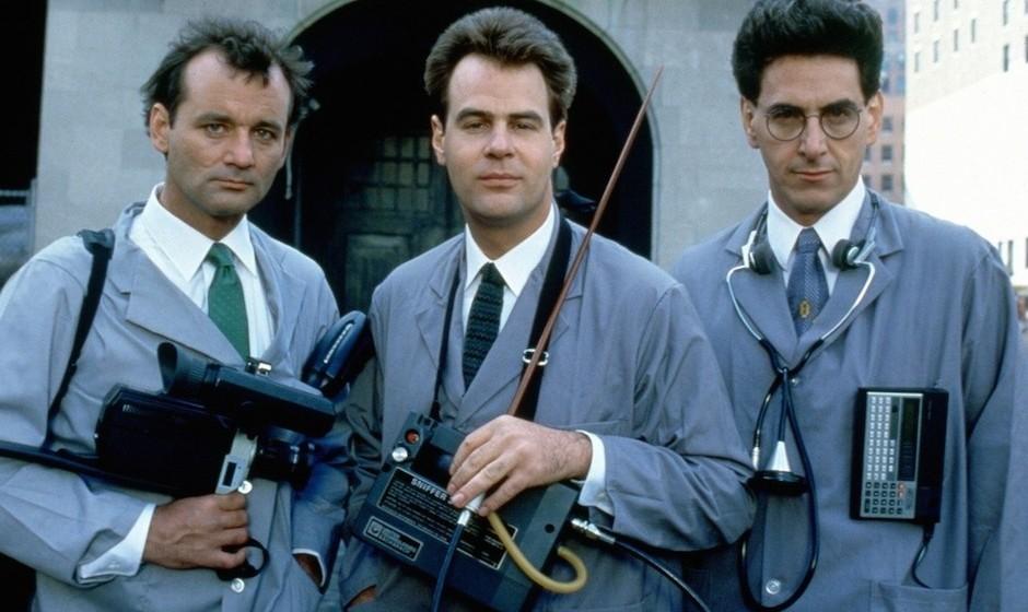 Die drei Original-Ghostbuster: Bill Murray, Dan Aykroyd und Harold Ramis, der vor einem Jahr verstarb.