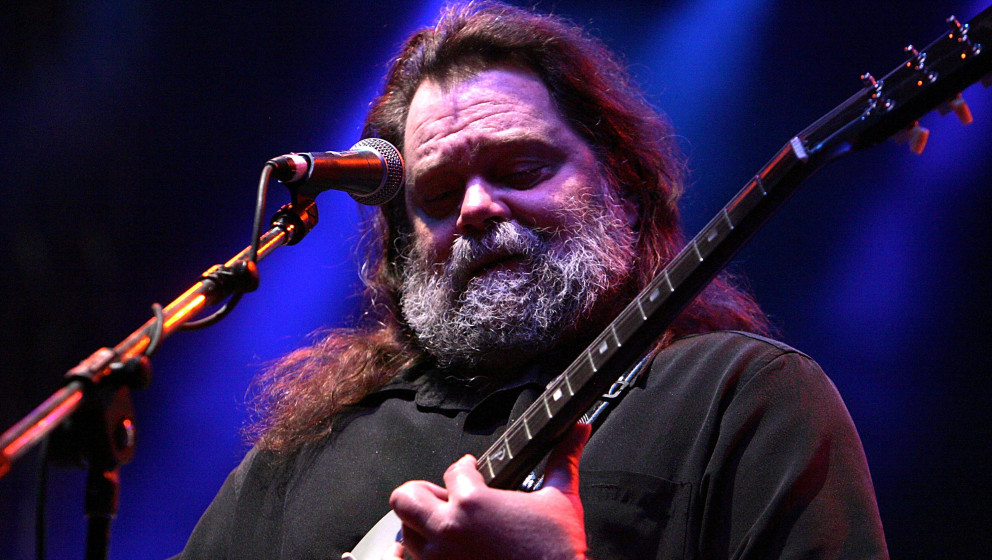 Musician Roky Erickson (formerly of the 13th Floor Elevators) performs at the Austin City Limits Music Festival in Zilker Par