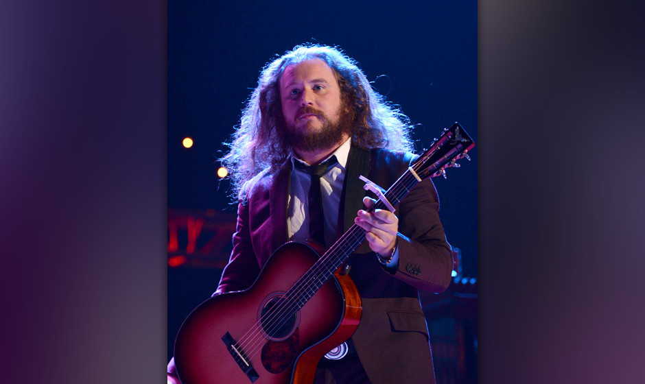 MOUNTAIN VIEW, CA - OCTOBER 26:  Jim James of My Morning Jacket performs during the 27th Annual Bridge School Benefit Concert