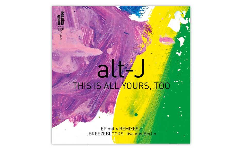 Exklusive Alt-J-EP im Heft