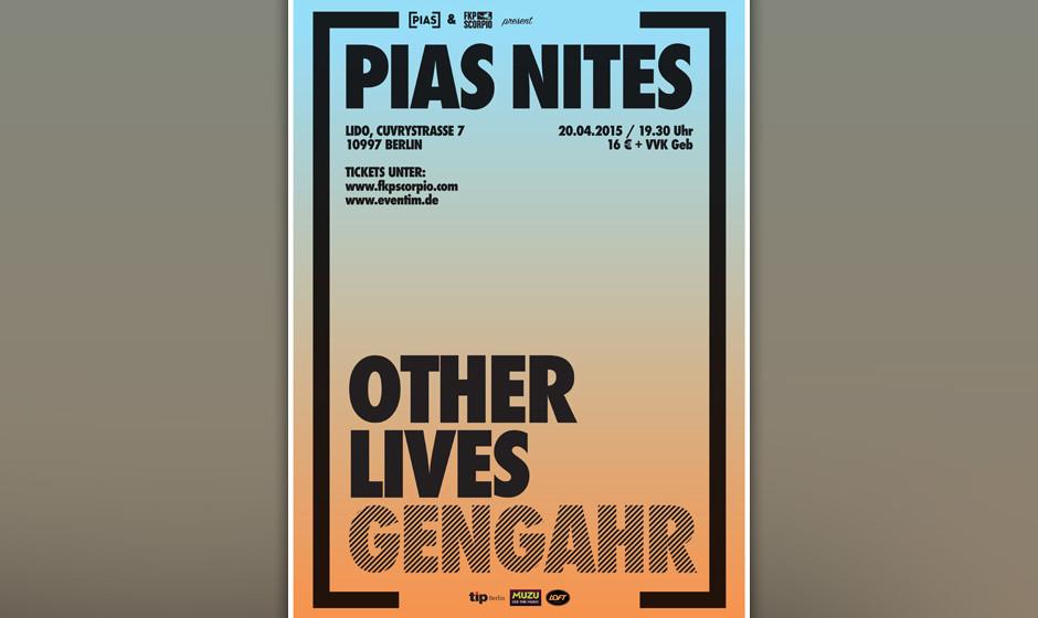 """""""PIAS Nites"""" mit..."""