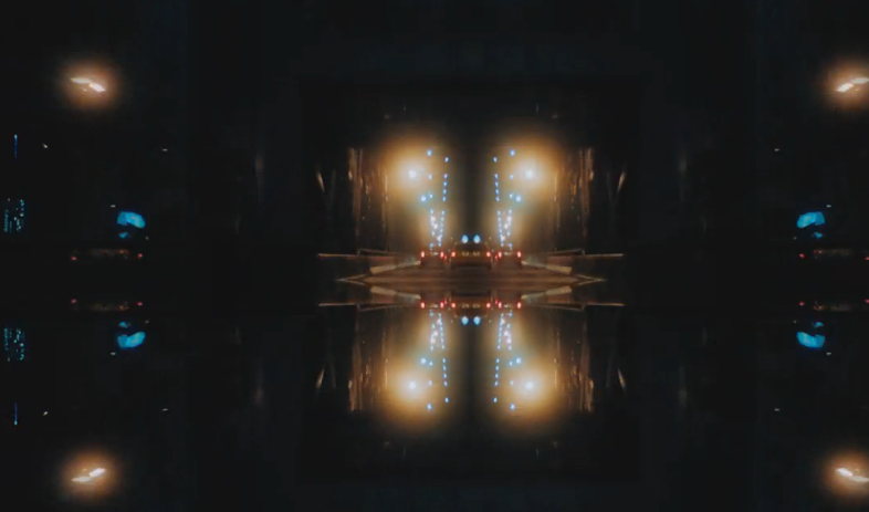 """Im kaleidoskopischen Audio-Video zu """"The Wolf"""" wähnt man sich mal im Club, mal in London und mal in einer """"Tron""""-Kul"""
