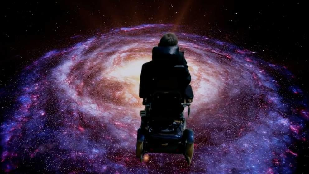 "Stephen Hawking singt Monty Pythons ""Galaxy Song"""