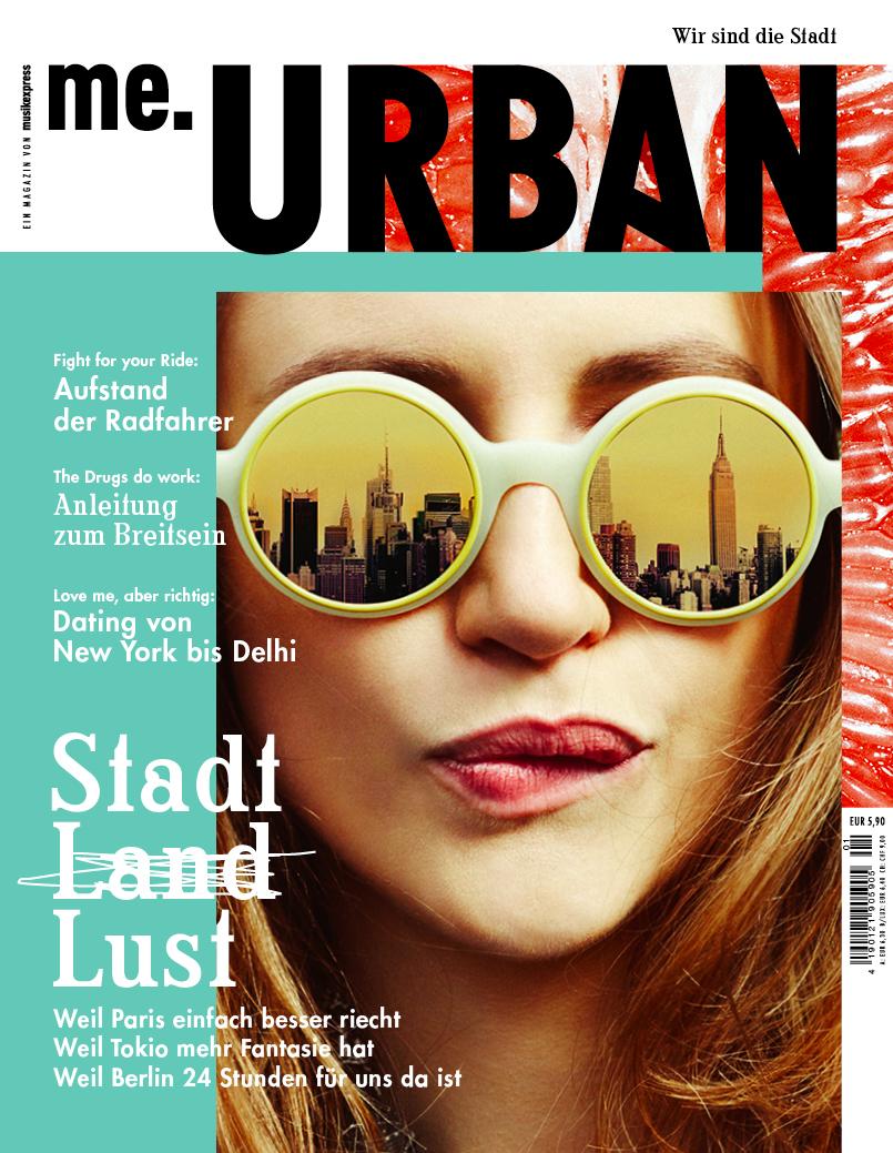 Das neue Magazin me.URBAN ist am 23. April erschienen…