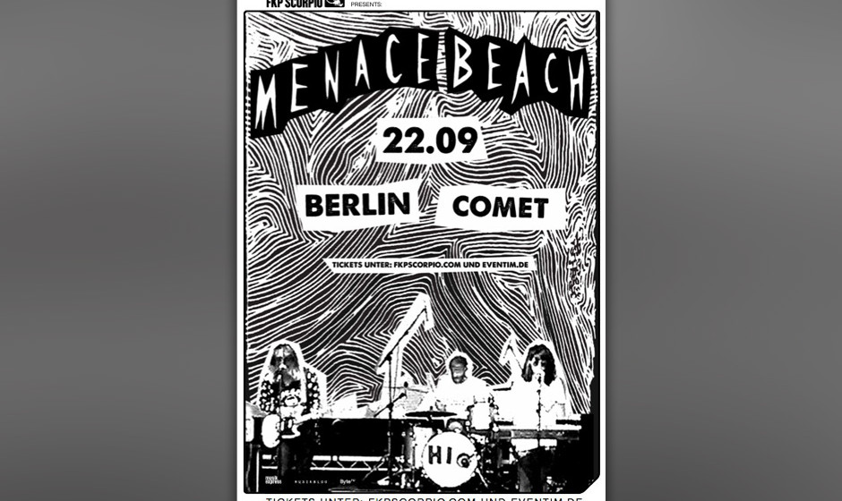 Menace Beach live in Berlin
