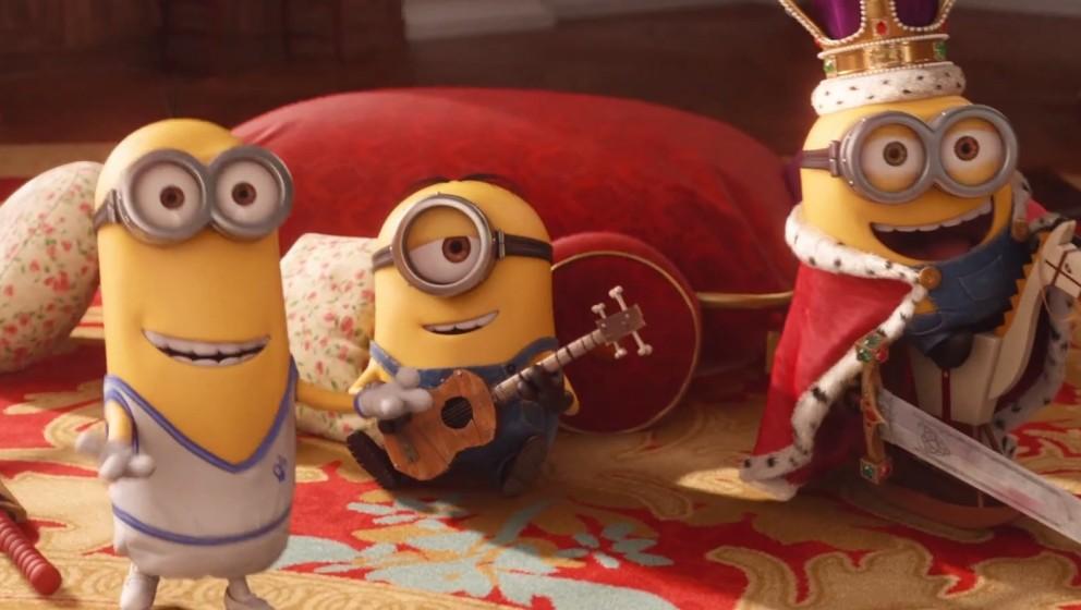Die Minions, bald im Kino
