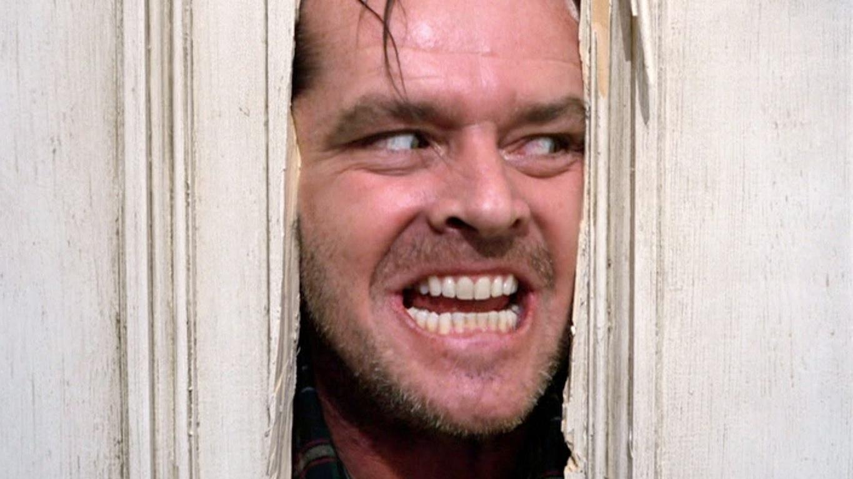 "Jack Nicholson in ""Shining"""