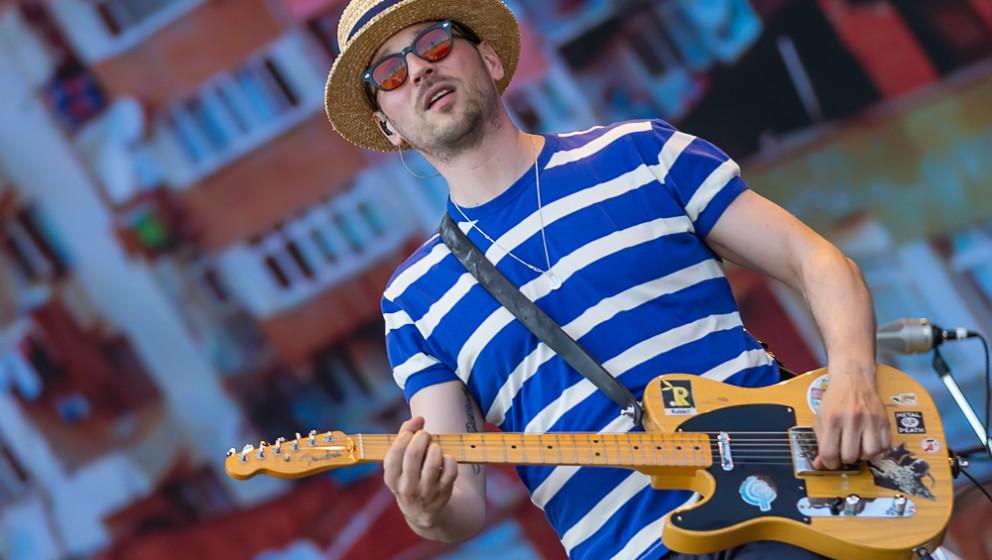 Beatsteaks treten beim PxP Festival in der Berliner Waldbühne auf.