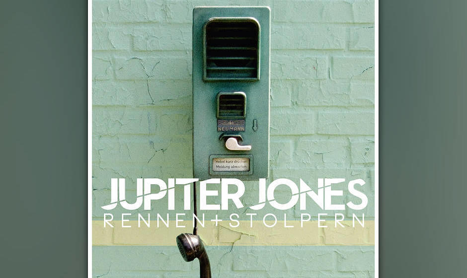 Jupiter Jones - 'Rennen & Stolpern' (Singlecover)