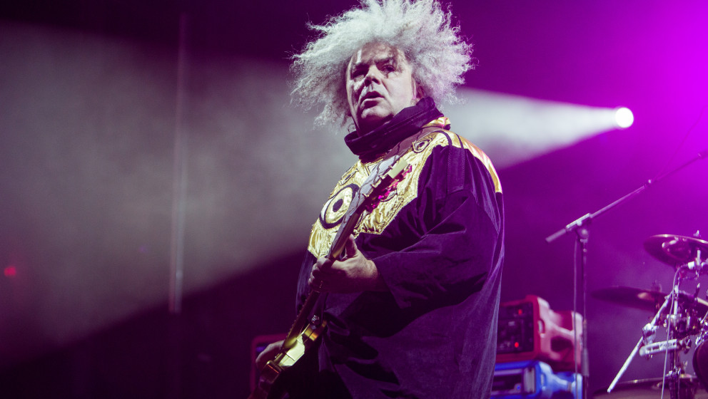 NEW ORLEANS, LA - OCTOBER 31:  Buzz Osborne of The Melvins performs during the 2014 Voodoo Music + Arts Experience at New Orl