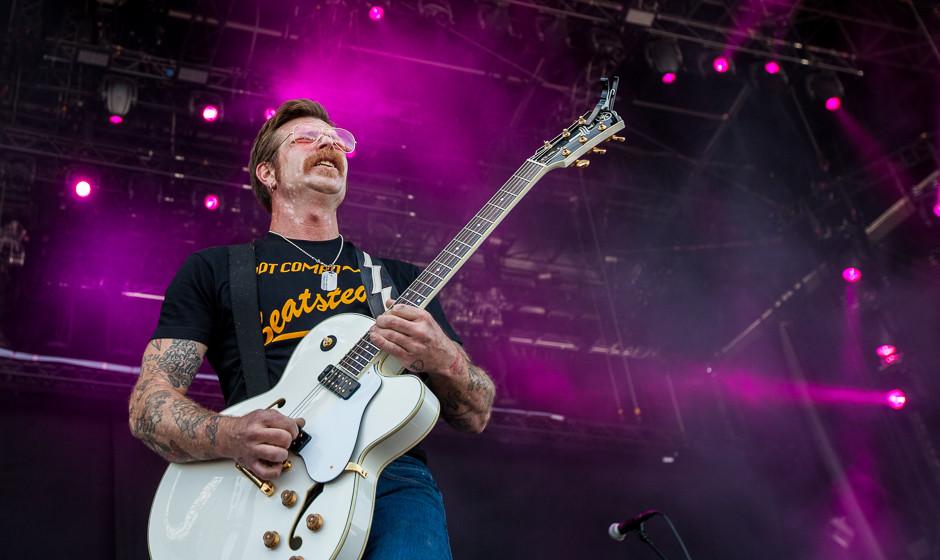 Jesse Hughes live mit den Eagles of Death Metal bei Rock am Ring