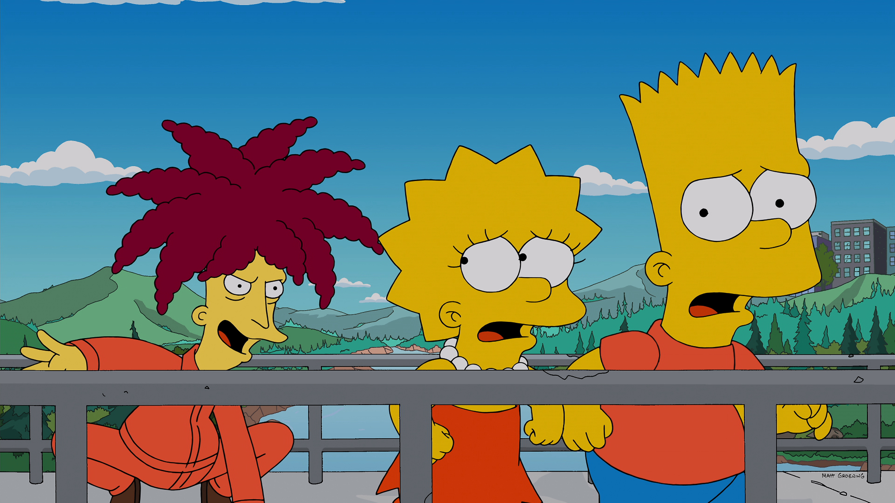 THE SIMPSONS: On a research trip, Lisa is shocked to discover that Sideshow Bob (guest voice Kelsey Grammar) is now the chief