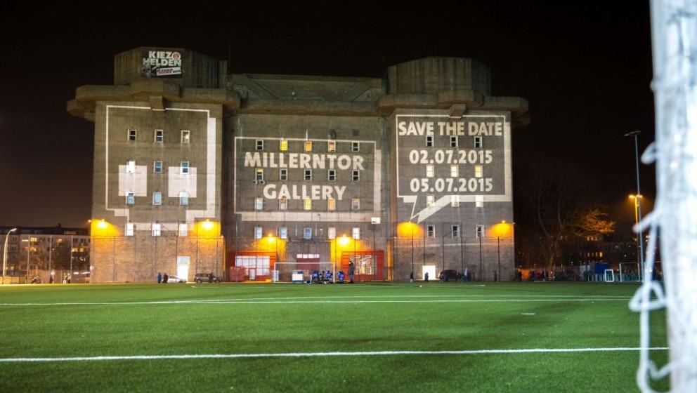 Millerntor Gallery findet vom 2. bis 5. Juli 2015 in Hamburg statt