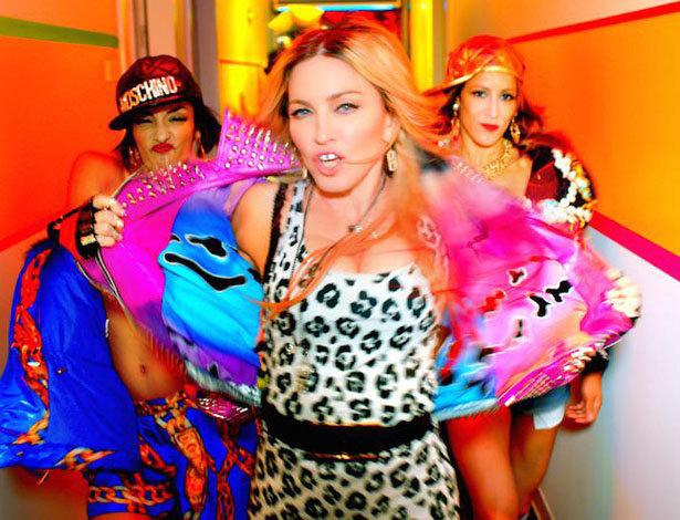 """Madonna in ihrem neuen Musikvideo zum Song """"Bitch I'm Madonna"""""""