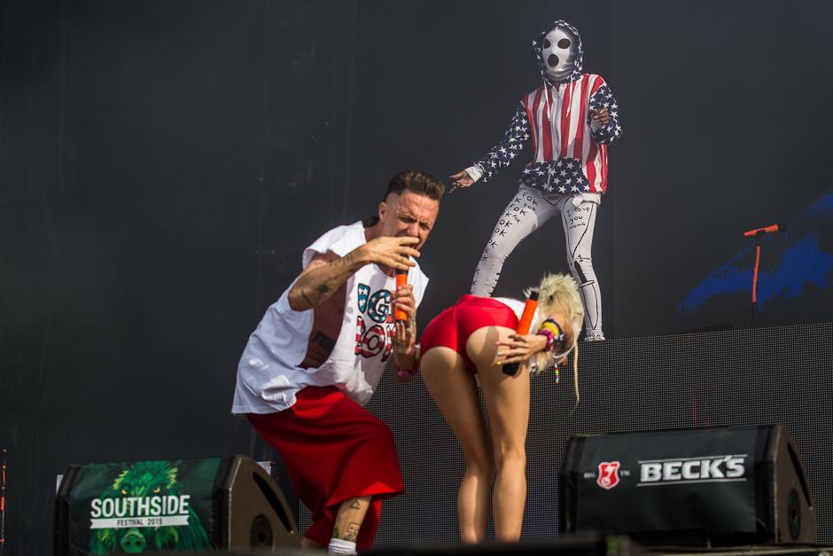 Die Antwoord beim Southside Festival 2015