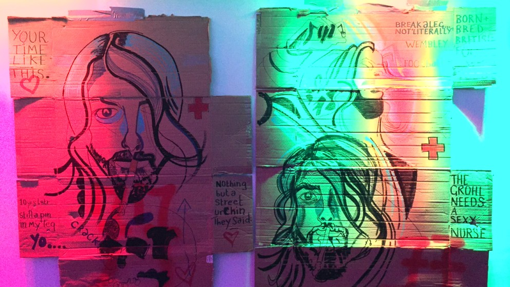 Der Künstler Darren Bardo ließ sich von Grohl inspirieren