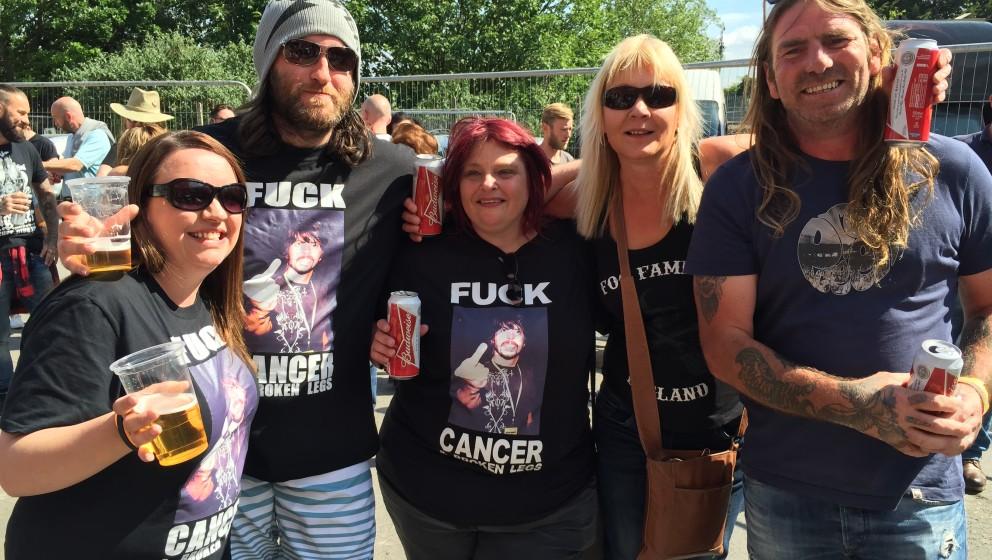 Fans bei UK Foo Fighters