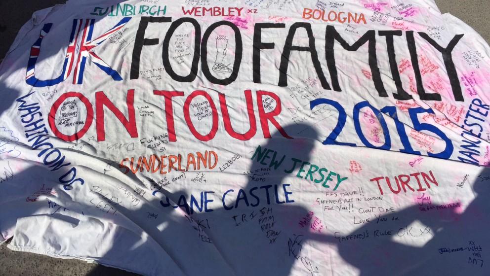Die 'Foo Family' war an beiden Tagen vor Ort
