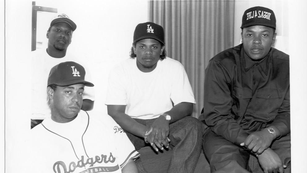 UNSPECIFIED - CIRCA 1990:  Photo of N.W.A  Photo by Al Pereira/Michael Ochs Archives/Getty Images