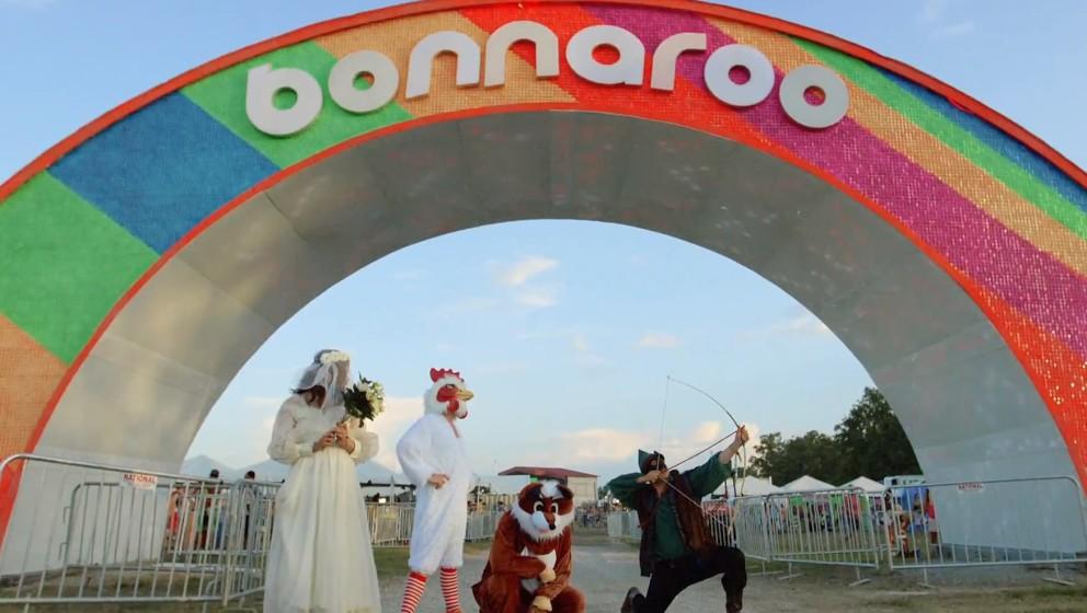 So sahen Mumford & Sons auf dem Bonnaroo 2015 aus