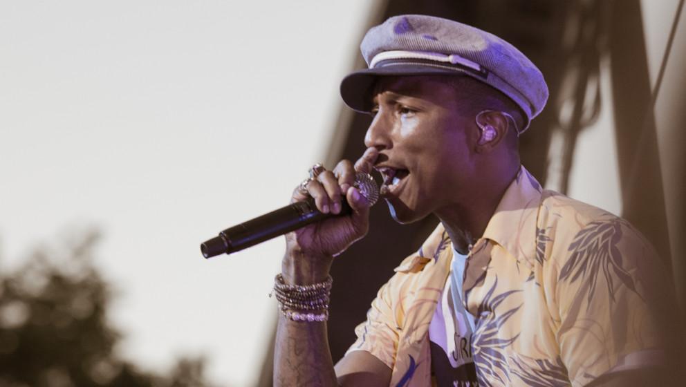 Pharrell Williams beim Roskilde Festival 2015