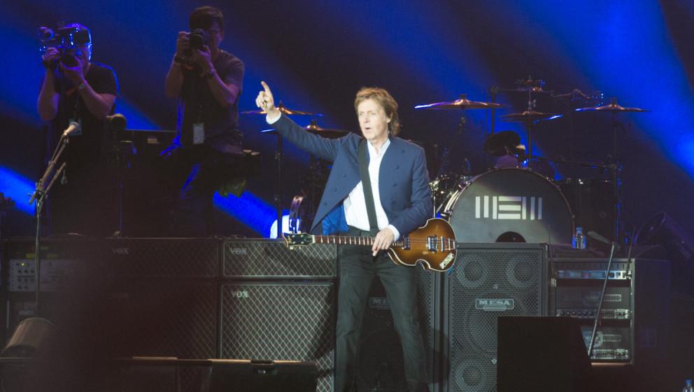 Paul McCartney live beim Roskilde Festival 2015